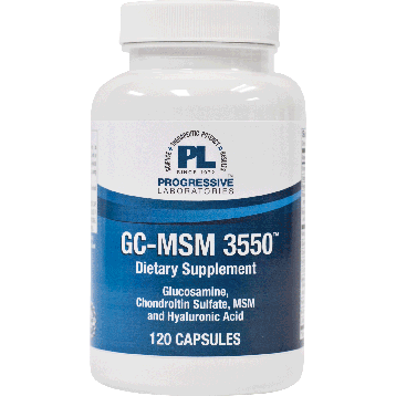 Progressive Labs GC MSM 3550 120 caps GCMSM