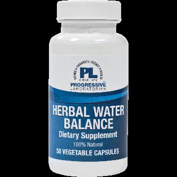 Progressive Labs Herbal Water Balance 50 capsules HER10