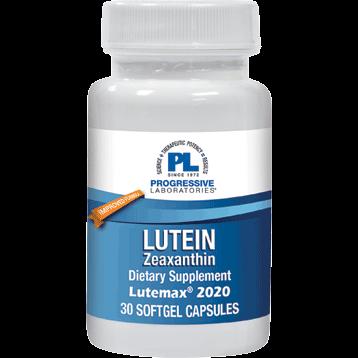 Progressive Labs Lutein Zeaxanthin 30 softgels P37325