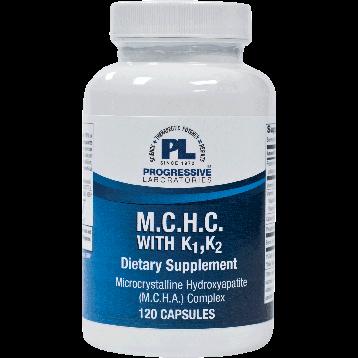 Progressive Labs M.C.H.C with K1 K2 120 caps MCPL1
