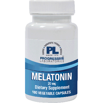 Progressive Labs Melatonin 20 mg 180 vegcaps P37219