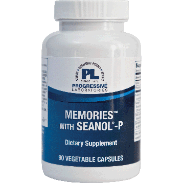 Progressive Labs Memories with Seanol P 90 vegetarian capsules PR822