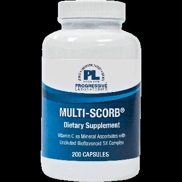 Progressive Labs Multi Scorb 200 vegetarian capsules MULT8