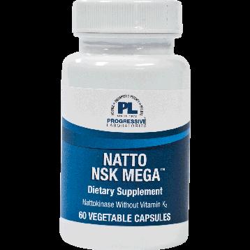 Progressive Labs Natto NSK Mega 60 vcaps NAN60