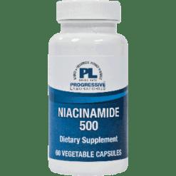 Progressive Labs Niacinamide 500 60 vcaps NIAC10