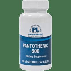 Progressive Labs Pantothenic 500 90 caps PANT6