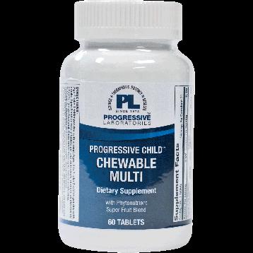 Progressive Labs Progressive Child Chewable Multi 60 tabs PR1004