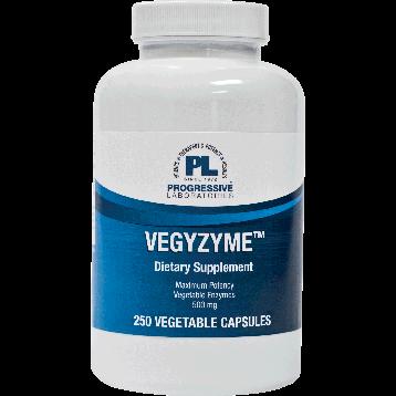 Progressive Labs Vegzyme™ 500 mg 250 caps VEGY2