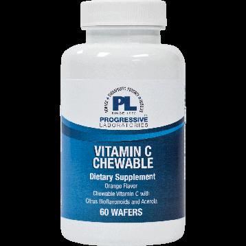 Progressive Labs Vitamin C Orange 500 mg 60 tablets CCHW6