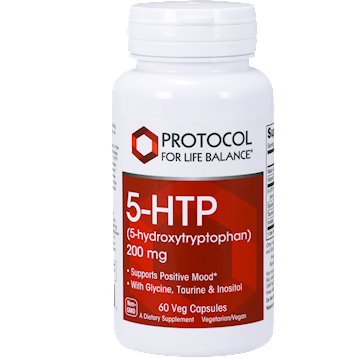 Protocol For Life Balance 5 HTP 200 mg 60 vegetarian capsules 5HT24