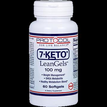 Protocol For Life Balance 7 KETO 100 mg 60 softgels P3022
