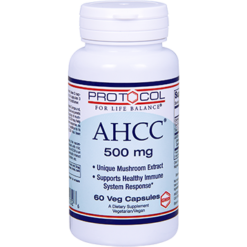 Protocol For Life Balance AHCC 500 mg 60 vegetarian capsules AHCC2