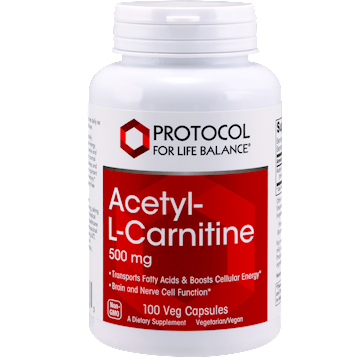 Protocol For Life Balance Acetyl L Carnitine 500 mg 100 caps ACE21