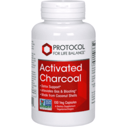Protocol For Life Balance Activated Charcoal 100 vegcaps P29153
