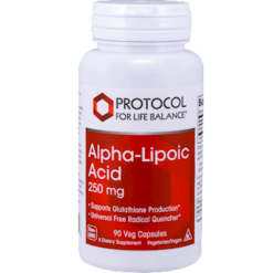 Protocol For Life Balance Alpha Lipoic Acid 250 mg 90 vcaps ALP44