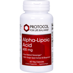Protocol For Life Balance Alpha Lipoic Acid 600 mg 60 vcaps ALP45