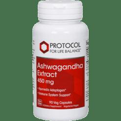Protocol For Life Balance Ashwaganda Extract 450 mg 90 vegcaps P46037