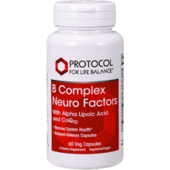 Protocol For Life Balance B Complex Neuro Factors 60 vegcaps P04068