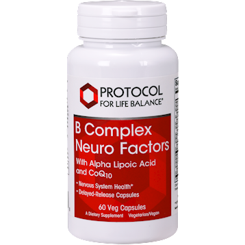 Protocol For Life Balance B Complex Neuro Factors 60 vegcaps P04068
