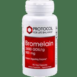 Protocol For Life Balance Bromelain 2400 GDU g 500 mg 90 vcaps BRO29