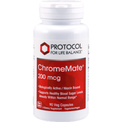 Protocol For Life Balance ChromeMate® 200 mcg 90 caps CHR52