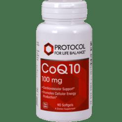 Protocol For Life Balance CoQ10 100 mg 90 gels CO147
