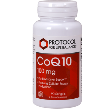 Protocol For Life Balance CoQ10 100 mg 90 gels CO147