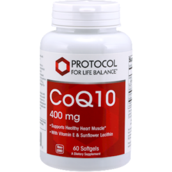 Protocol For Life Balance CoQ10 400 mg 60 gels CO148