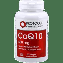 Protocol For Life Balance CoQ10 400 mg 60 gels CO148