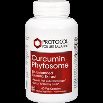 Protocol For Life Balance Curcumin Phytosome 60 vegcaps P4642
