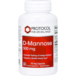 Protocol For Life Balance D Mannose 500 mg 90 capsules DMANU