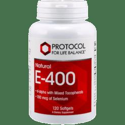 Protocol For Life Balance E 400 120 gels VI255