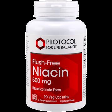 Protocol For Life Balance Flush Free Niacin 500 mg 90 vegcap FLUS2