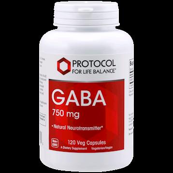 Protocol For Life Balance Gaba 750 mg 120 vegcaps P00893
