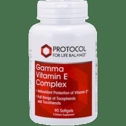 Protocol For Life Balance Gamma Vitamin E Complex 90 gels P0818