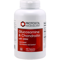 Protocol For Life Balance Glucosamine amp Chondroitin w MSM 180 caps GCM3