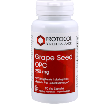 Protocol For Life Balance Grape Seed OPC 250 mg 90 vegcaps GRA42