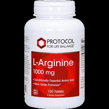 Protocol For Life Balance L Arginine 1000mg 120 tabs P00350