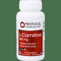 Protocol For Life Balance L Carnitine 500 mg 60 caps LCAR5