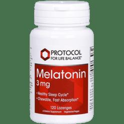 Protocol For Life Balance Melatonin 3 mg 120 loz MEL51