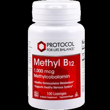 Protocol For Life Balance Methyl B12 1000 mcg 100 loz METB1