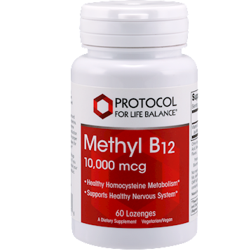 Protocol For Life Balance Methyl B12 10000 mcg 60 lozenges P497