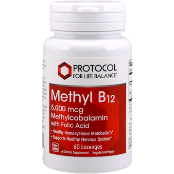 Protocol For Life Balance Methyl B12 5000 mcg 60 loz METB2