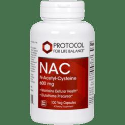 Protocol For Life Balance NAC 600 mg 100 caps NAC20