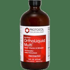 Protocol For Life Balance Ortho Liquid Multi™ Iron Free 16 oz ORTHL