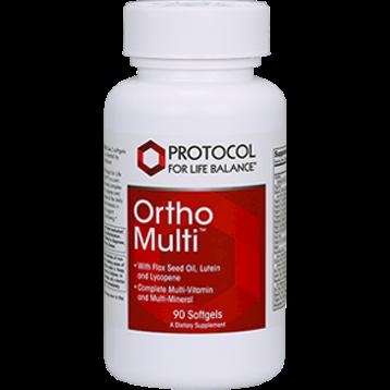 Protocol For Life Balance Ortho Multi™ w Flax Oil 400 mg 90 gels ORTMF