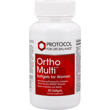 Protocol For Life Balance Ortho Multi for Women 90 softgels P38025