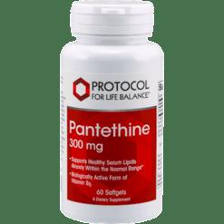 Protocol For Life Balance Pantethine 300 mg 60 gels PAN67