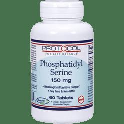 Protocol For Life Balance Phosphatidyl Serine 150 mg 60 tabs P12388
