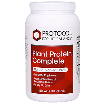 Protocol For Life Balance Plant Protein Complete Vanilla 2 lb P21294